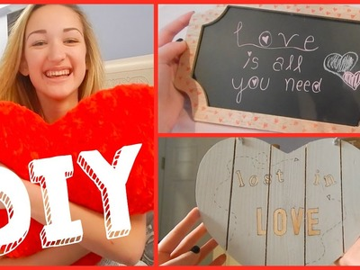 Valentines Day DIY Room Decor!