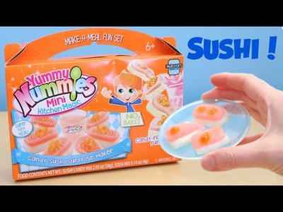 Yummy Nummies Candy Sushi Surprise Maker DIY Kit