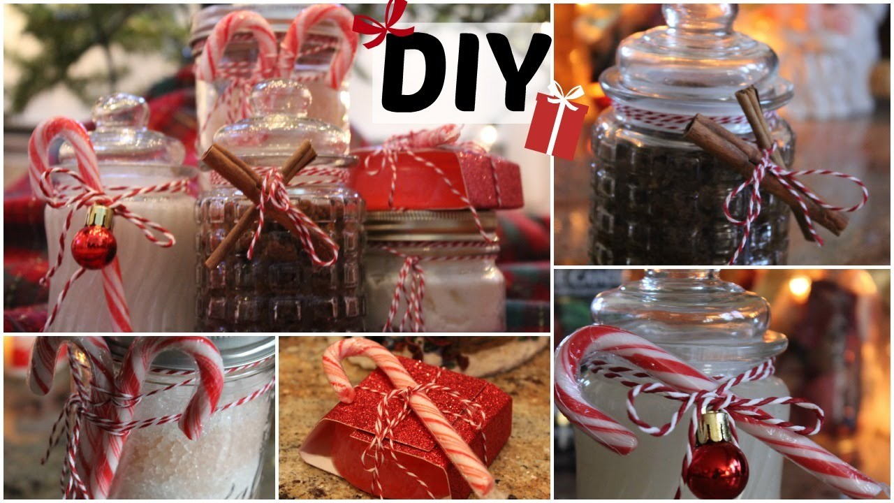 5 Easy DIY Christmas Gift Ideas! (DIY Beauty Gifts for Her!)