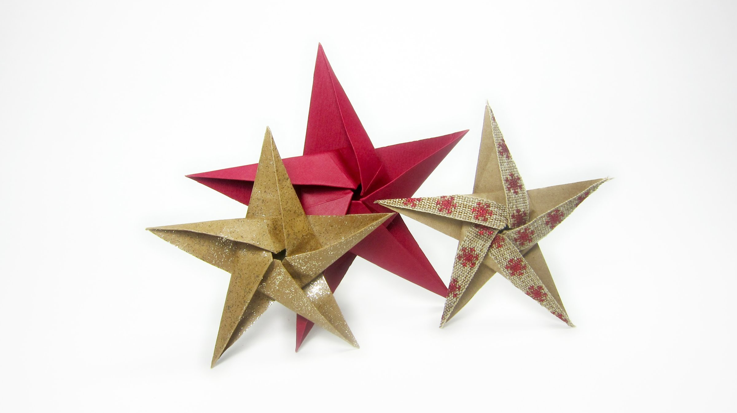 5 Pointed Origami Star Folding - DIY