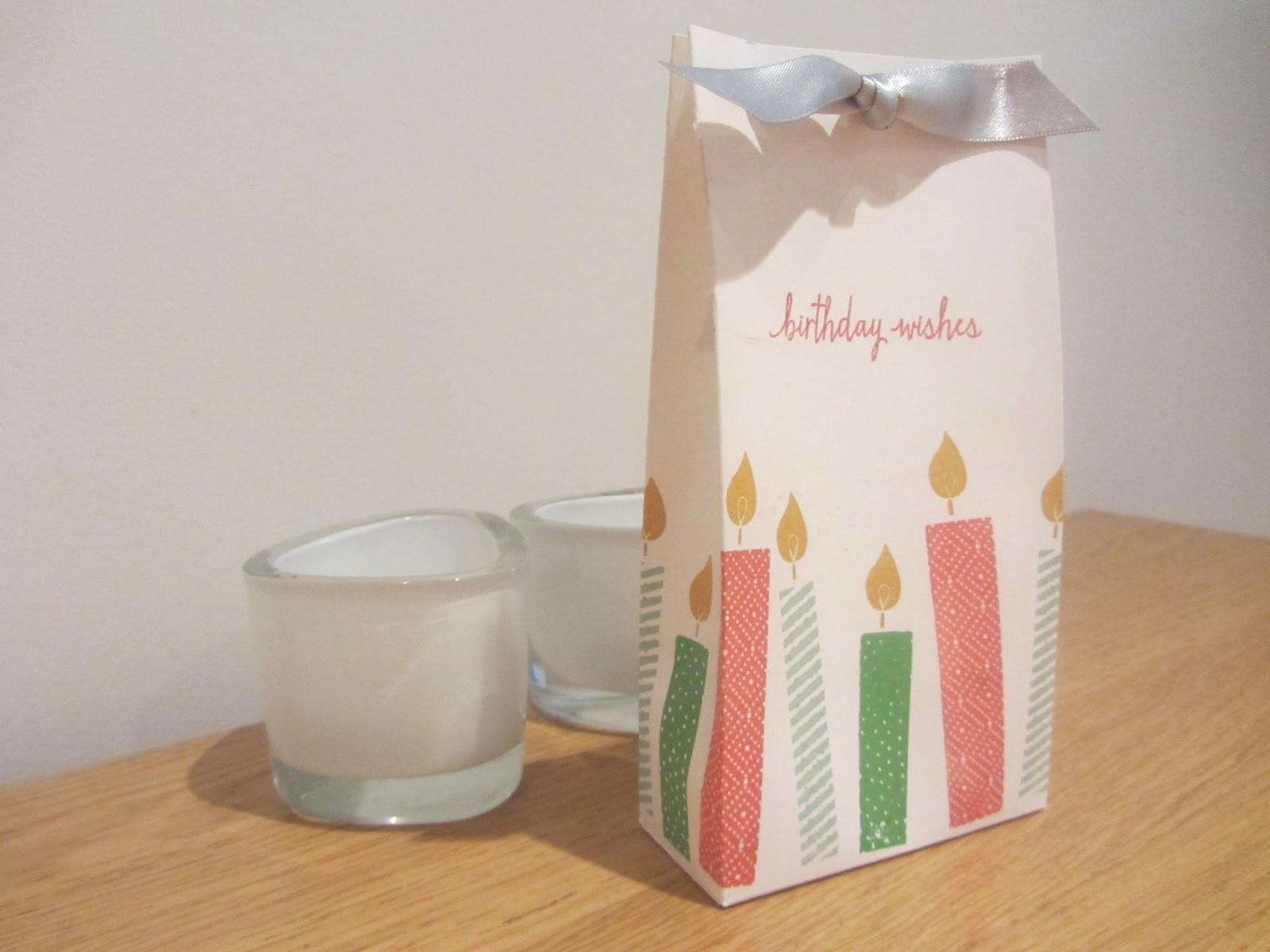 Build-a-Birthday Handmade Gift Bag Tutorial, Stampin' Up UK Sneak Peak