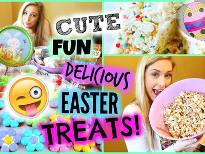 Delicious & Easy DIY Easter TREATS! 2015 ✿