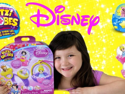 Disney Princess Glitzi Globes Jewelry Maker-DIY Glitzi Globes Princess Jewelry by MOOSE toys!