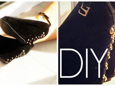 DIY : Amazing Glamour Shoes