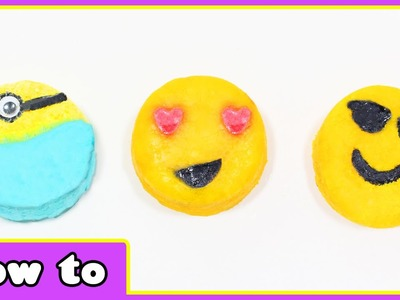 DIY Bath Bomb - Emoji and Minion Bath Bombs