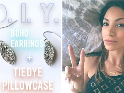DIY BOHO JEWELRY + TIE DYE TUMBLR INSPIRED