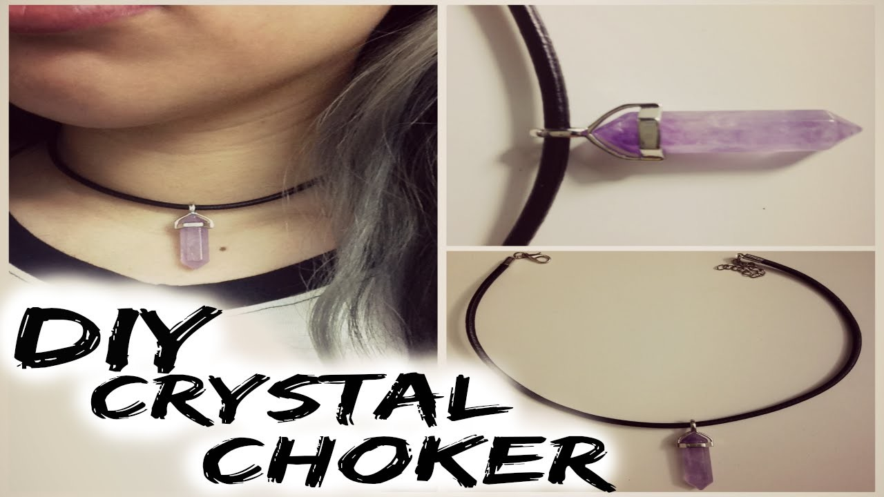 DIY Crystal Choker