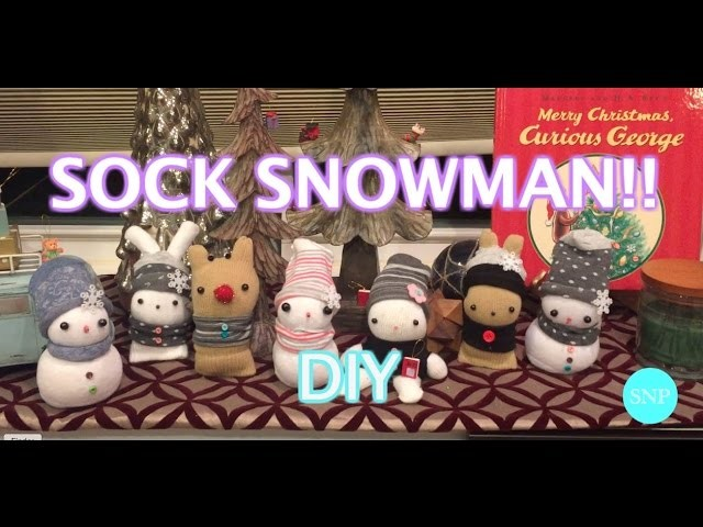 DIY: Cute Snowman Hand Warmer!