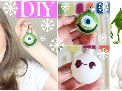 DIY Disney Ornaments! ❄HolidAMY Day 5 | 2015❄