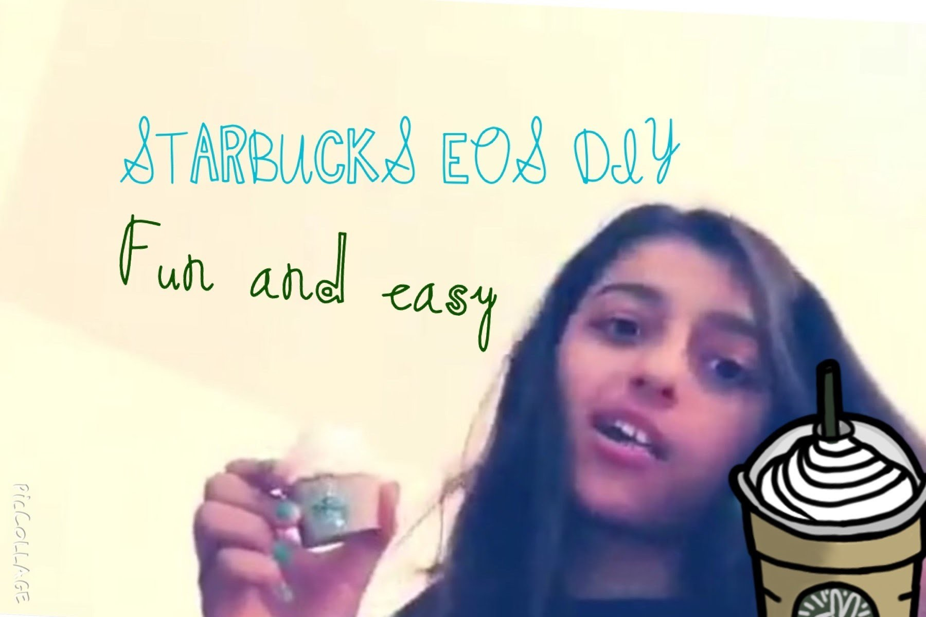 DIY EOS Cupcake or Starbucks Cup!☕️