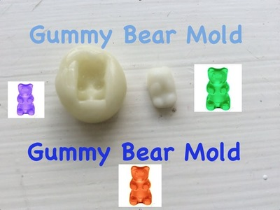 DIY: Gummy Bear Mold
