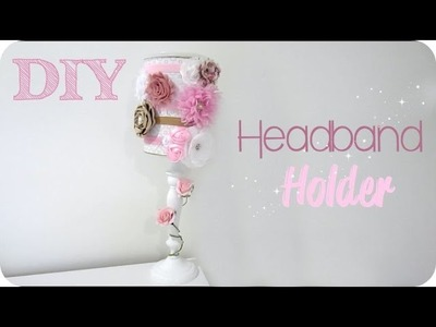 DIY Headband Holder + GIVEAWAY Little Sugars Headband