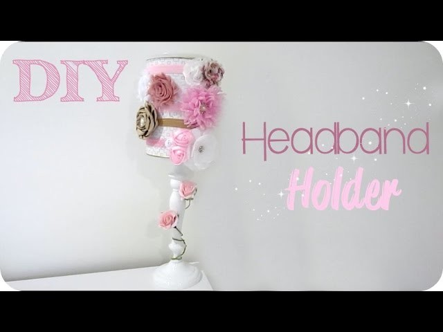 DIY Headband Holder + GIVEAWAY Little Sugars Headband