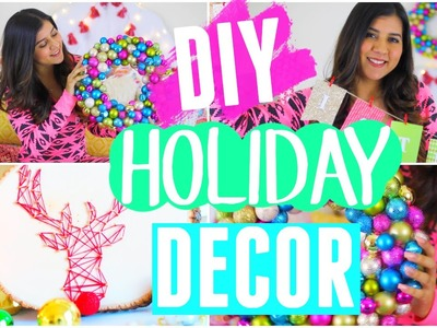 DIY Holiday Room Decor!! 2015