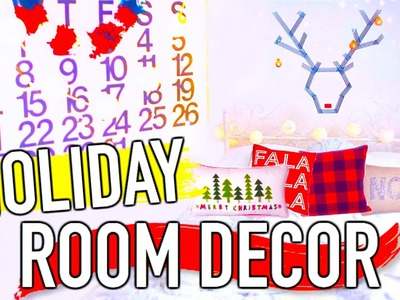 DIY Holiday Room Decor with HayleyWi11iams!