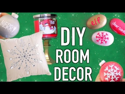 DIY Holiday Room Decorations! Easy Room Decor 2015