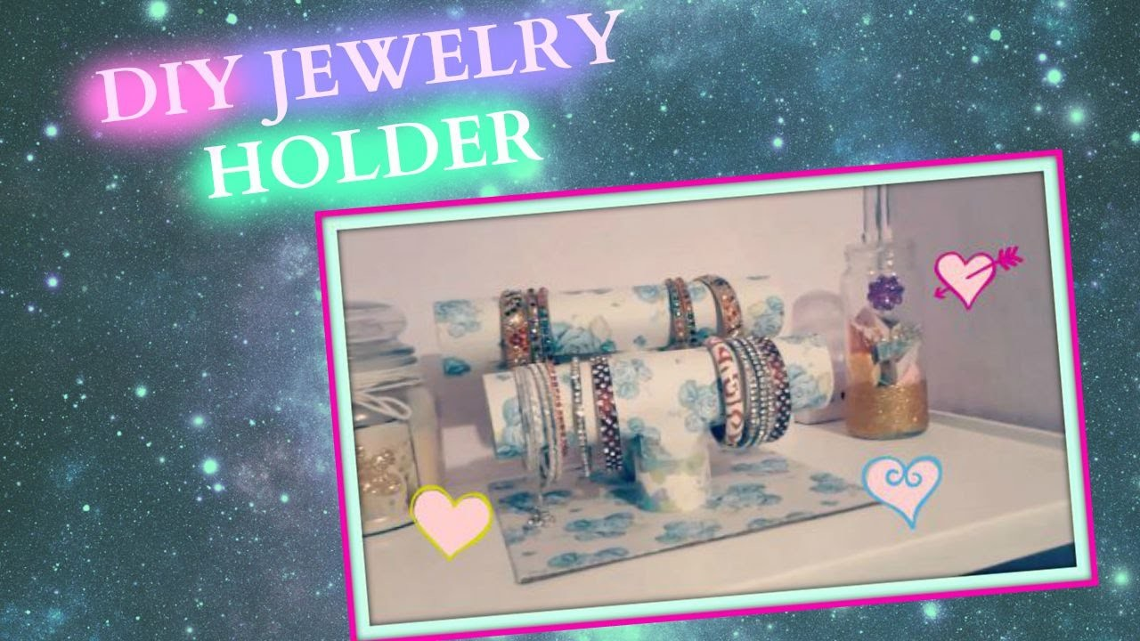 DIY Jewelry Bangles Holder (Easy)