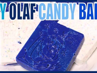 DIY Olaf Candy Bark