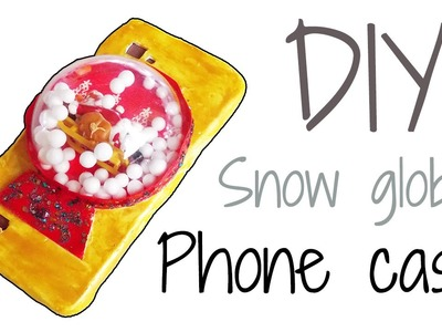 DIY Snow Globe iPhone Case!