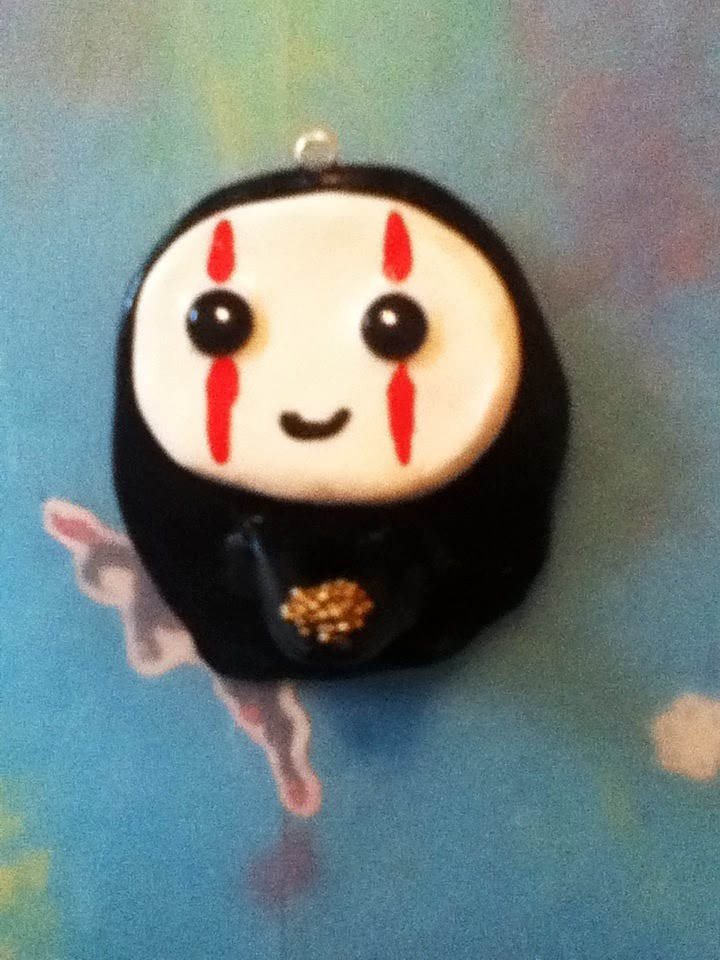 DIY Spirited Away No Face Charm!
