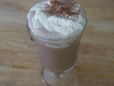 DIY Starbucks Mocha Frappuccino
