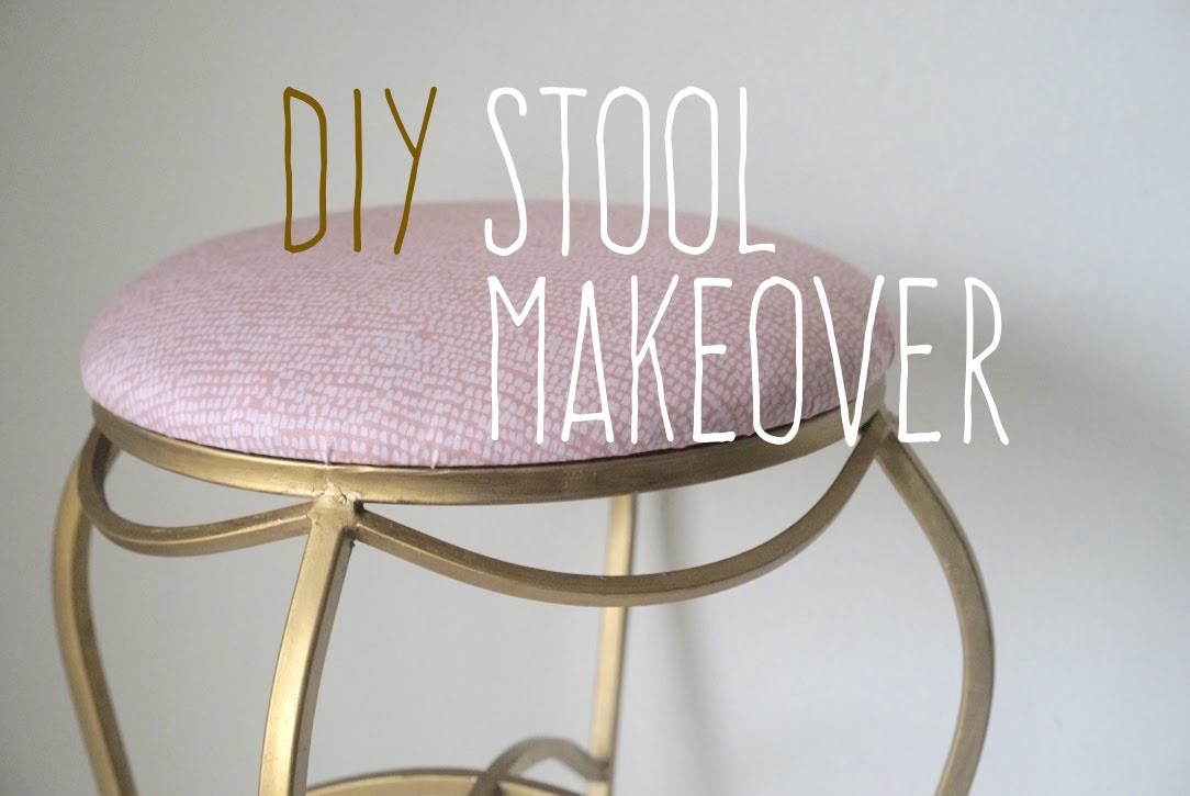 DIY Stool Makeover