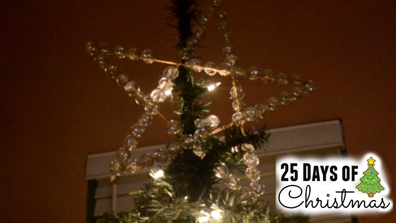 DIY Tree Topper *KID FRIENDLY CRAFT*
