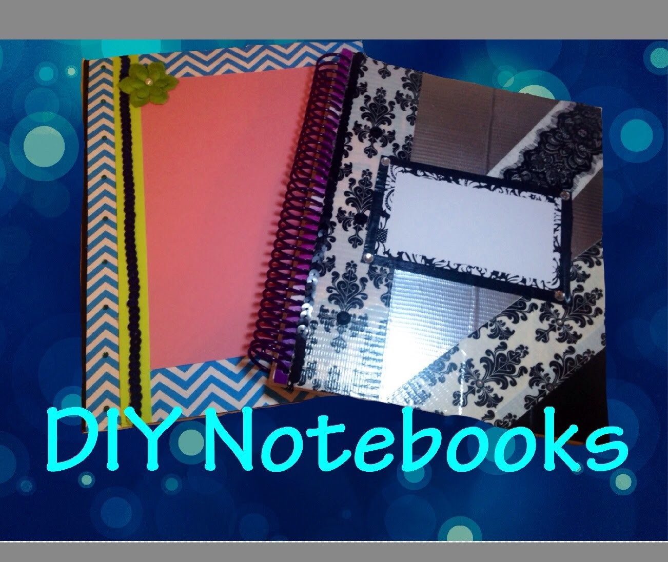 Allanna's Creations-DIY Notebook Decorations