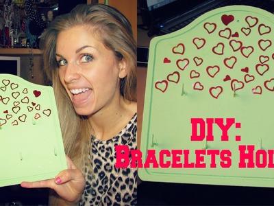 DIY: Bracelets Holder