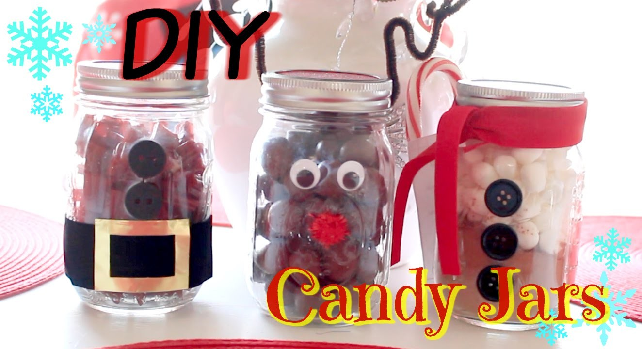 DIY - Character Candy Jars