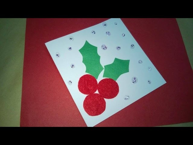 DIY Christmas Ornaments - Christmas Gift Card Craft