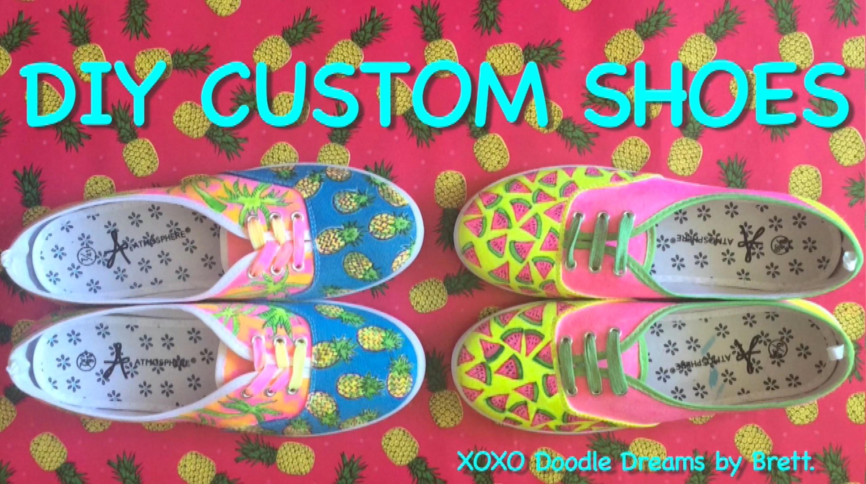 DIY Custom Shoes : DIY 2