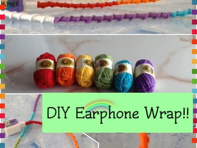 DIY Earphone Wrap