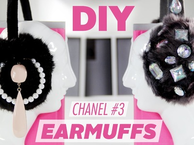 DIY Embellished Earmuffs ~ Inspired by Scream Queens | Karen Kavett