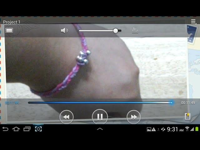 DIY friendship bracelet:fishtail braid