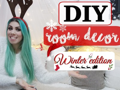 DIY Holiday Room Decor ❅ Winter.Christmas Edition