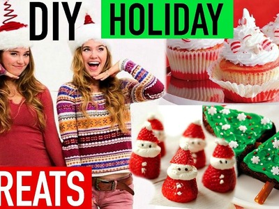 DIY Holiday Treats with Nina and Randa!