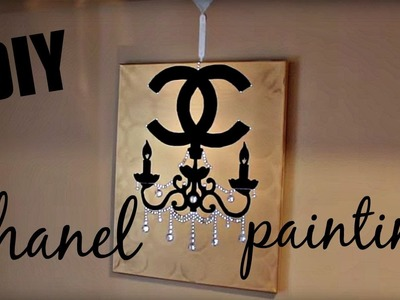 DIY ROOM DECOR | Chanel Chandelier