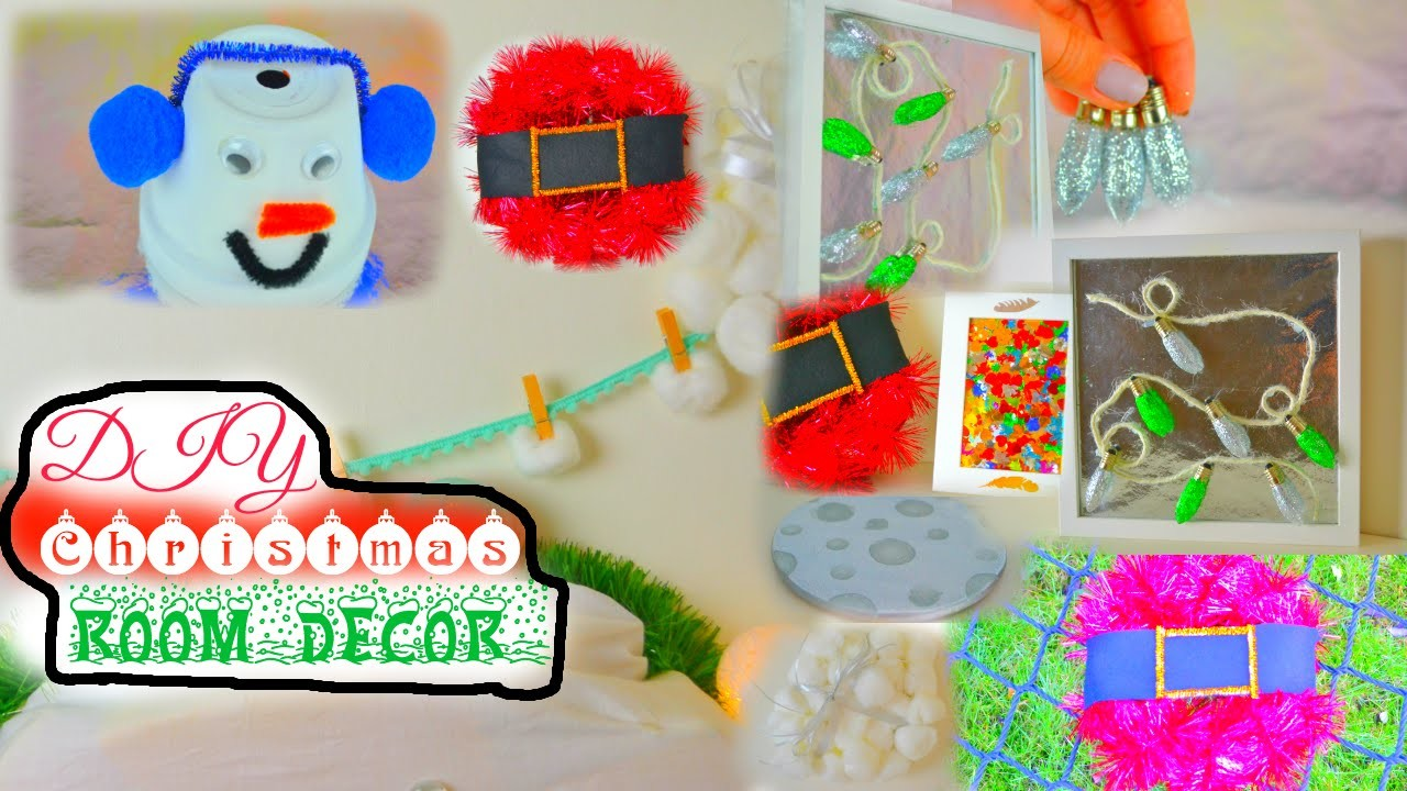 DIY ROOM DECORATIONS | WINTER EDITION