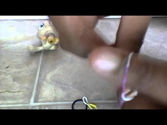 DIY singlet rainbow loom bracelet without the loom