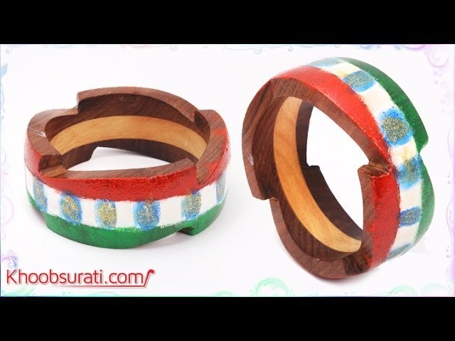DIY Tips To Decorate Your Bangle For Independence Day By Khoobsurati.com