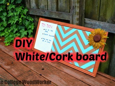 DIY White.Cork board