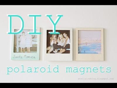 DIY Wooden Polaroid Magnets. xoStellaire ☆