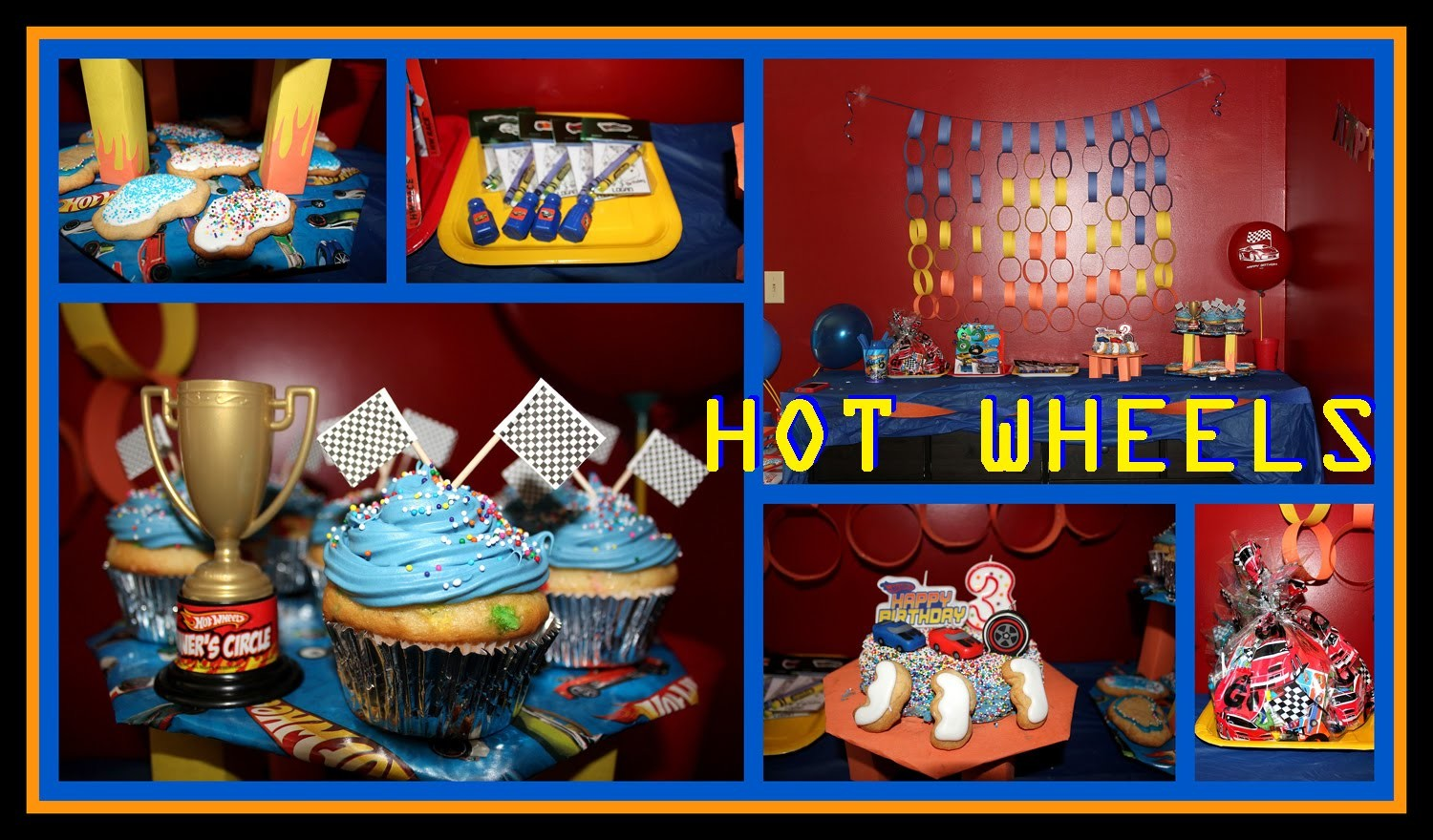 Hot Wheels Party - Ideas and DIY Lookbook
