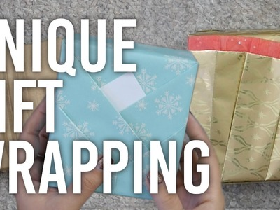 How to do Unique Gift Wrapping : DIY