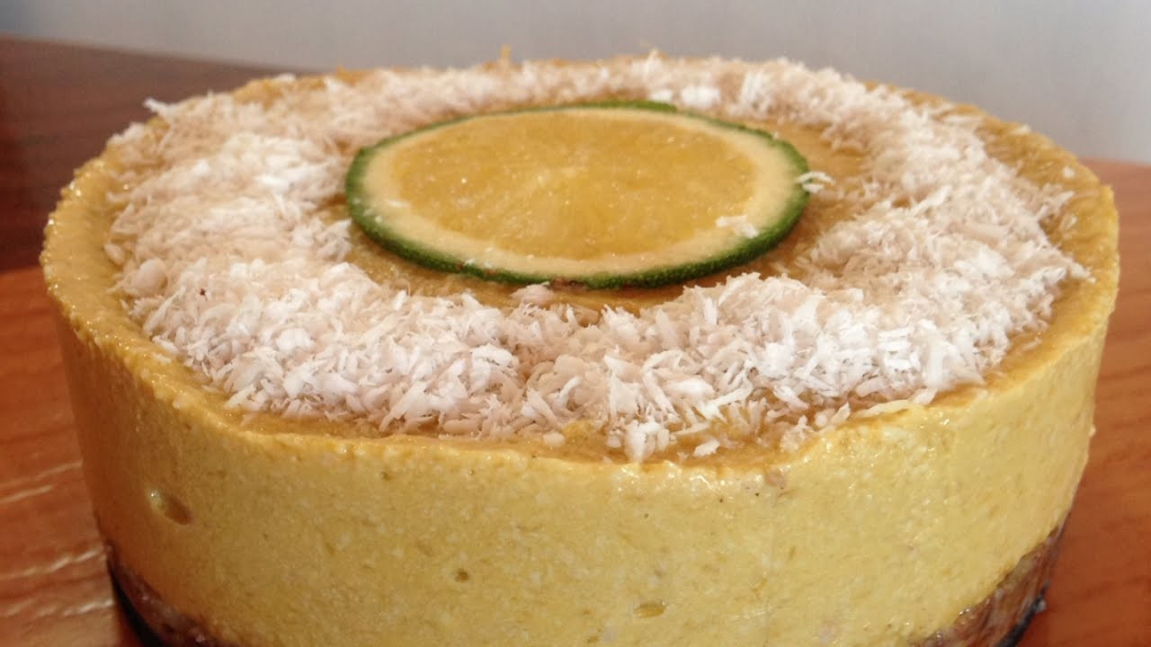 Make a Delicious Vegan Mango Cheese Cake - DIY  - Guidecentral
