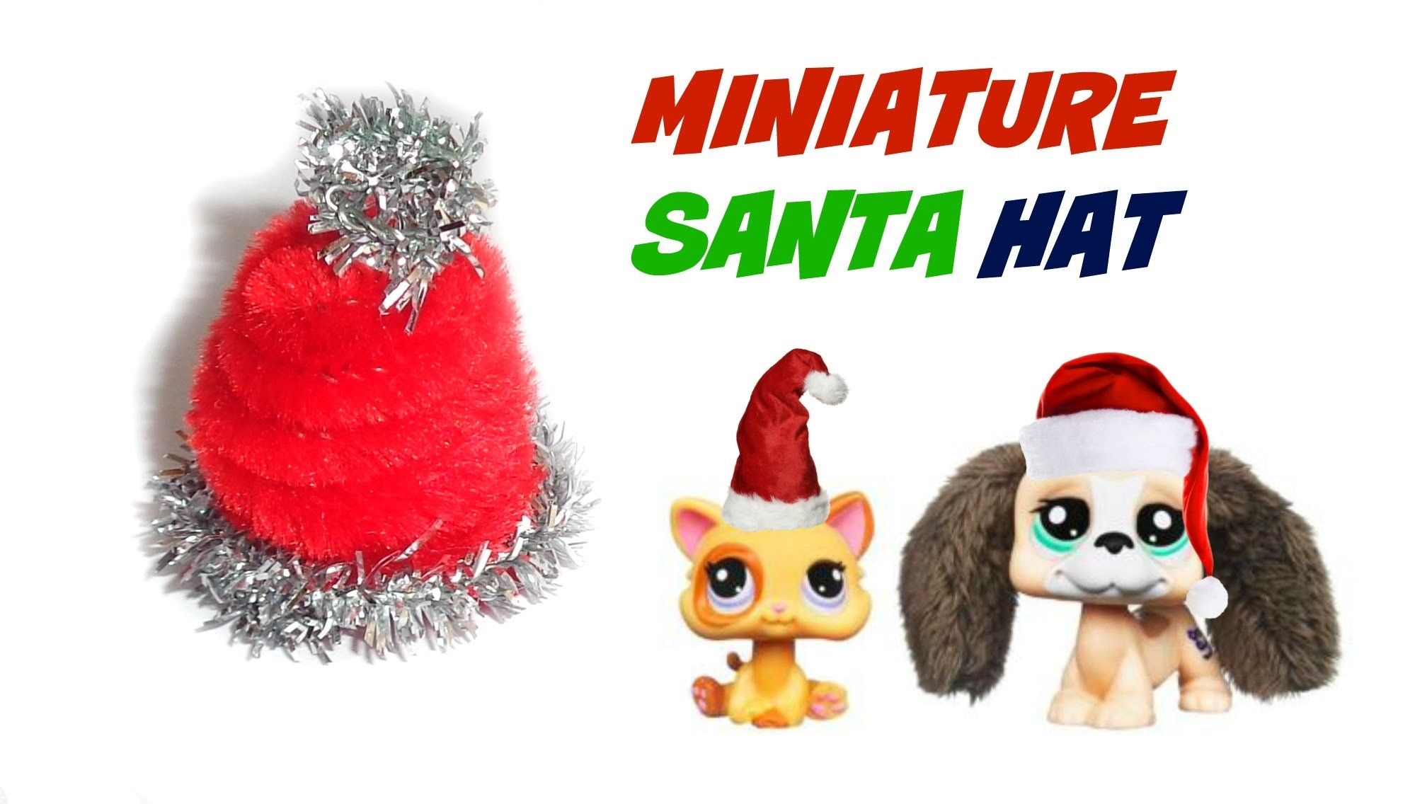 Miniature Santa Hat - DIY LPS Stuff, Crafts & Accessories