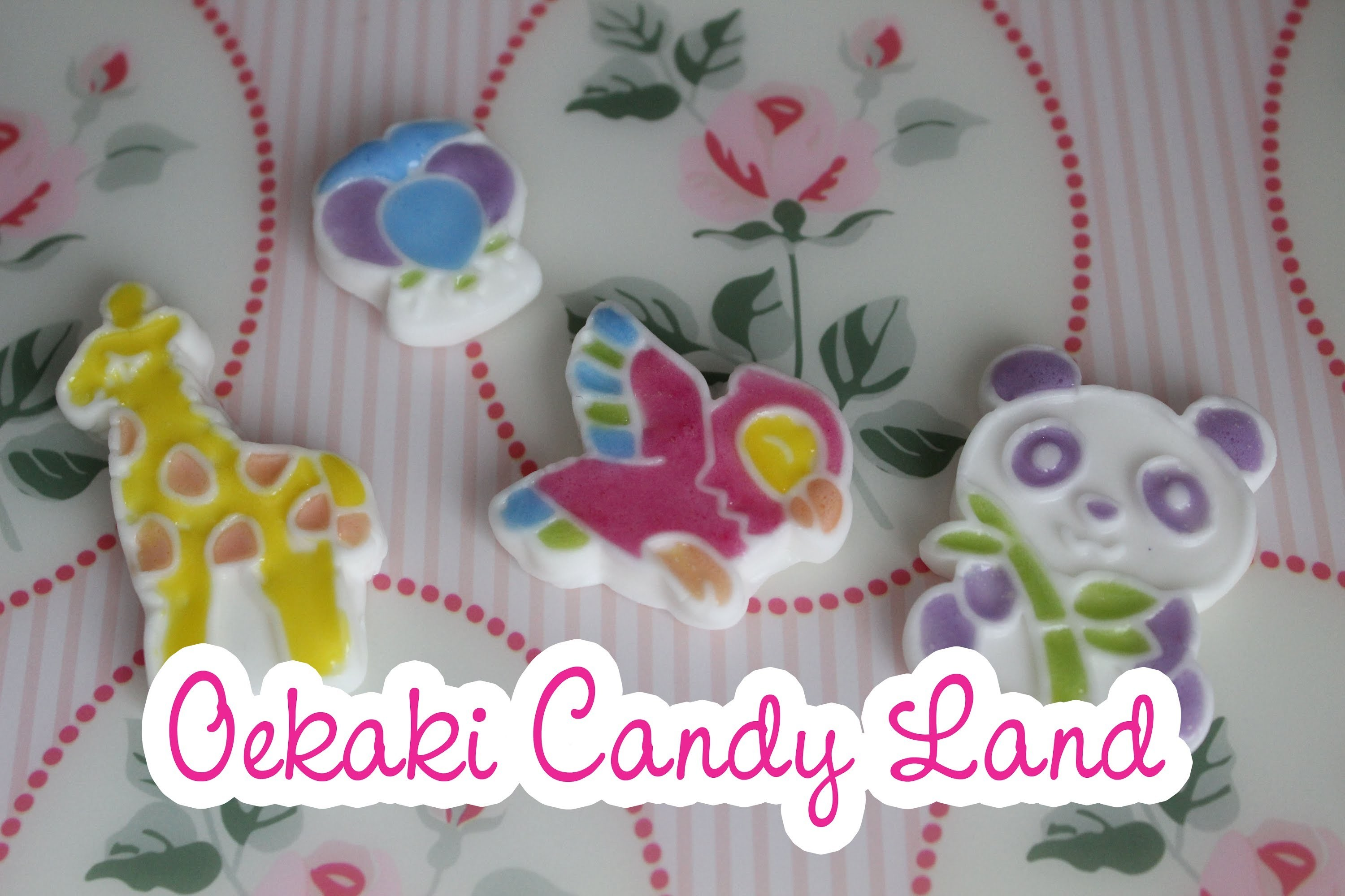 Popin Cookin Oekaki Candy Land DIY Kit