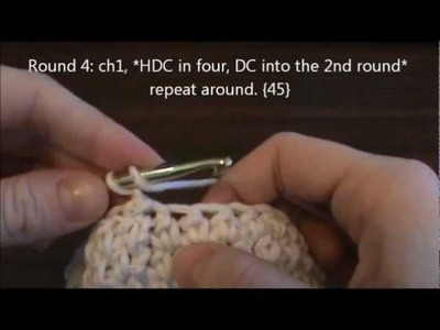 Crochet Newborn Diaper Cover Tutorial - Left Hand Version