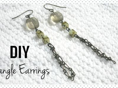 DIY Dangle Earrings